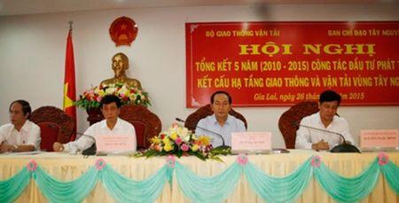 Phat trien he thong ket cau ha tang giao thong lien vung, lien tinh cac tinh Tay Nguyen - Anh 2