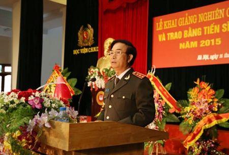 Hoc vien CSND khai giang nghien cuu sinh va trao bang Tien si - Anh 2