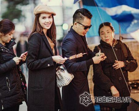 Ngoc Trinh - Khac Tiep nhu minh tinh noi bat tren duong pho Han Quoc - Anh 6