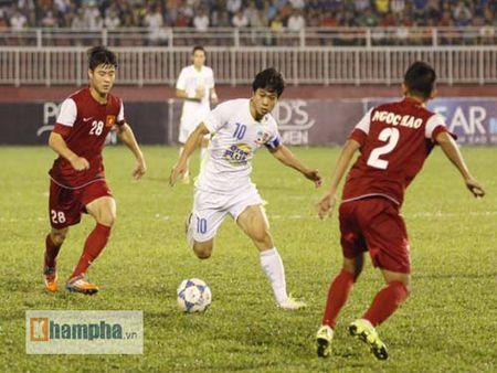 HLV U21 HAGL khen Cong Phuong, HLV U21 VN bo hop bao - Anh 2