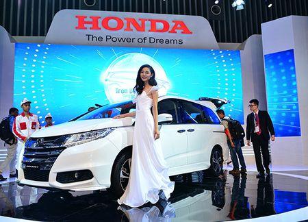 Honda Odyssey gia 800 trieu dong vua ra mat tai Viet Nam - Anh 1