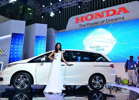 Honda Odyssey gia 800 trieu dong vua ra mat tai Viet Nam - Anh 2