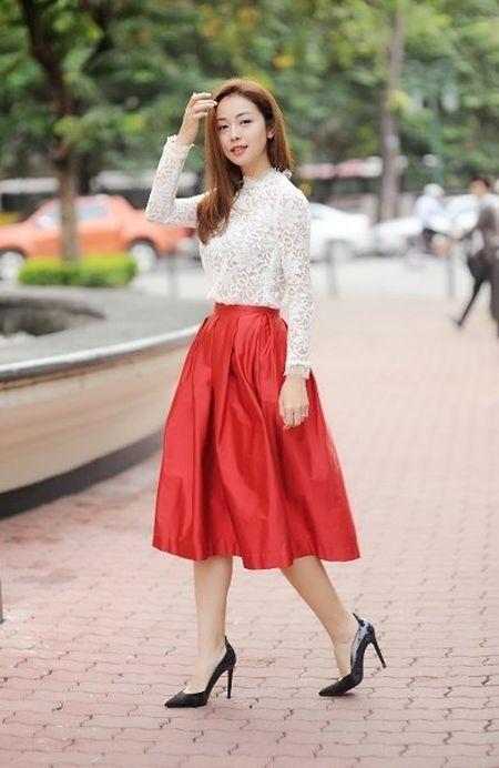 """Jennifer Pham va nhung """"set do"""" am ap cho mua dong - Anh 4"""