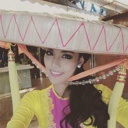Lan Khue xuat hien noi bat nhung ngay dau o Miss World - Anh 5