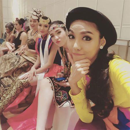 Lan Khue xuat hien noi bat nhung ngay dau o Miss World - Anh 6