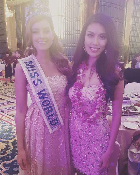 Lan Khue xuat hien noi bat nhung ngay dau o Miss World - Anh 9