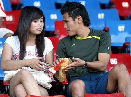 Nhung dau moc cuoc tinh Thanh Binh - Thao Trang - Anh 2