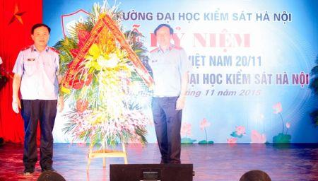 Ky niem ngay Nha giao Viet Nam va khai giang khoa III Dai hoc Kiem sat Ha Noi - Anh 1