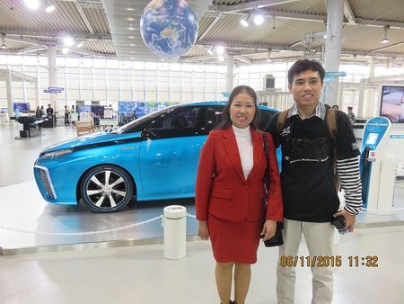 Toyota cong bo ket qua Cuoc thi chup anh selfie that day an toan Toyota - Anh 1