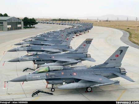 [ANH] Suc manh cua F-16 trong bien che khong quan Tho Nhi Ky - Anh 2