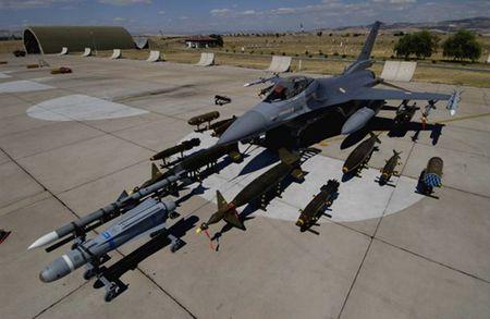 [ANH] Suc manh cua F-16 trong bien che khong quan Tho Nhi Ky - Anh 9
