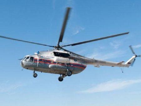 Lai 1 chiec Mi-8 cua Nga bi roi, 15 nguoi thiet mang - Anh 1