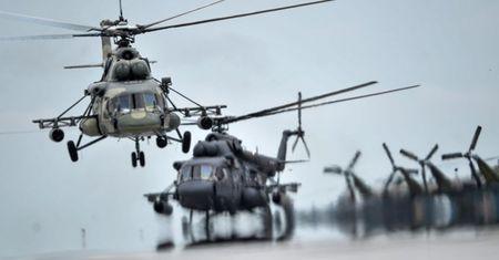 Nga: Tai nan truc thang Mi-8 o vung Krasnoyarsk: 15 nguoi tu nan - Anh 1