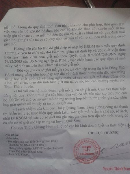 "Ket luan ve vu heo chet van ra cho o Que Son, Quang Nam: Khong ""chot"" duoc nguyen nhan heo chet - Anh 6"