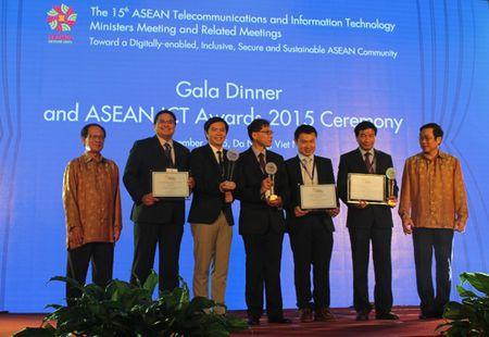 Viet Nam dat 2 giai nhat ve Cong nghe thong tin - Truyen thong ASEAN 2015 - Anh 1