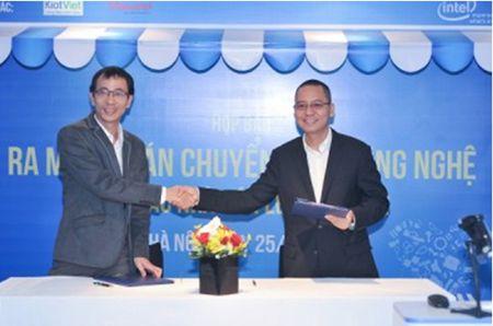 Intel cung Kiot Viet tang 5.000 bo may tinh cho chu cua hang ban le - Anh 1