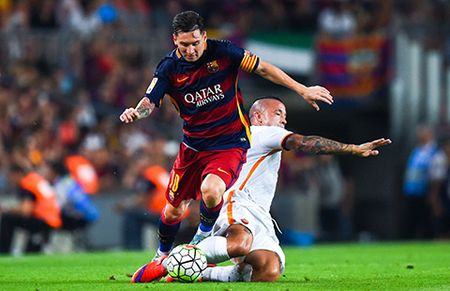 Champions League: Barcelona va Bayern vao vong knock out - Anh 1