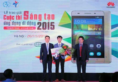 "Trao giai ""Cuoc thi Sang tao ung dung di dong 2015 danh cho sinh vien Viet Nam"" - Anh 1"