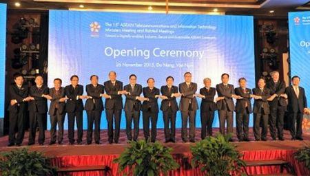Cong dong ASEAN phat trien ben vung tren nen tang so - Anh 1