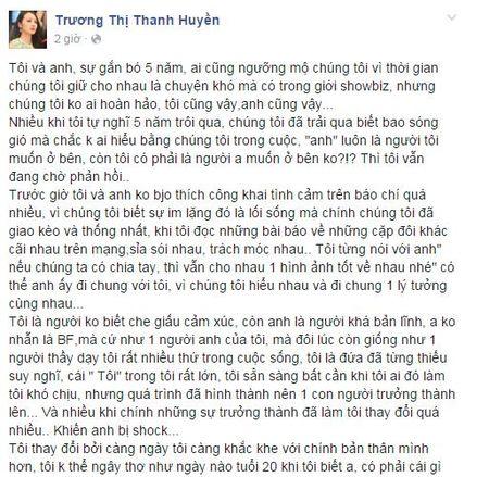 Truong Nhi chia se ly do ran nut voi Luong Bang Quang - Anh 1