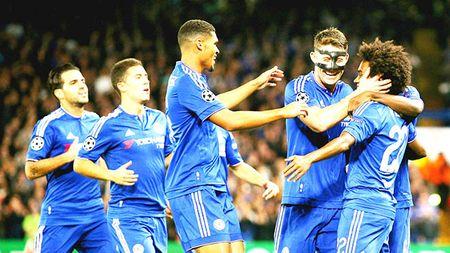 Chelsea thang Maccabi Tel Aviv 4-0: Chi la bat nat doi yeu - Anh 1