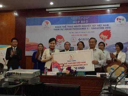 Doan the thao nguoi khuyet tat Viet Nam du ASEAN Para Games 8 dat muc tieu pha nhieu ky luc - Anh 1