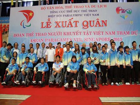 Doan the thao nguoi khuyet tat Viet Nam du ASEAN Para Games 8 dat muc tieu pha nhieu ky luc - Anh 2