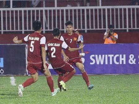 TRUC TIEP, U21 Viet Nam 2-1 U21 HAGL: Lam Ti Phong toa sang (Hiep 2) - Anh 1