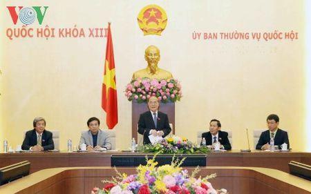 Chu tich Quoc hoi Nguyen Sinh Hung tiep Lien doan Nha bao ASEAN - Anh 1