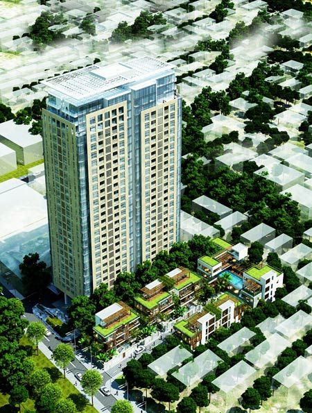 Mon City nang tam HD Mon Holdings - Anh 1