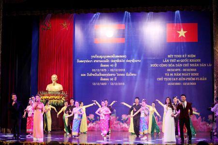 Trang trong le mittinh ky niem 40 nam Quoc khanh Lao - Anh 1