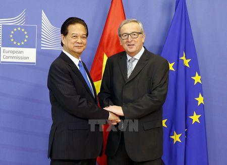 Dam phan Hiep dinh thuong mai tu do Viet Nam-EU chinh thuc ket thuc - Anh 1