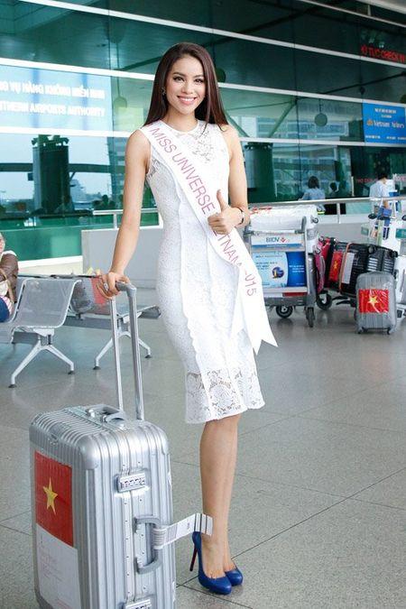 Pham Huong mang 8 va li hanh ly den Hoa hau Hoan vu - Anh 4