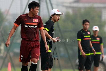 Cong Phuong lap 'hat-trick' trong buoi tap cua U23 Viet Nam - Anh 10