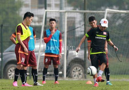 Cong Phuong lap 'hat-trick' trong buoi tap cua U23 Viet Nam - Anh 11
