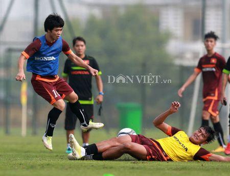 Cong Phuong lap 'hat-trick' trong buoi tap cua U23 Viet Nam - Anh 12