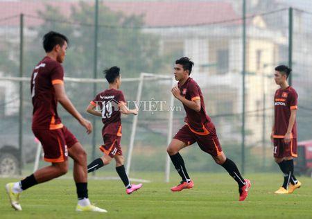 Cong Phuong lap 'hat-trick' trong buoi tap cua U23 Viet Nam - Anh 3
