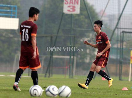 Cong Phuong lap 'hat-trick' trong buoi tap cua U23 Viet Nam - Anh 5