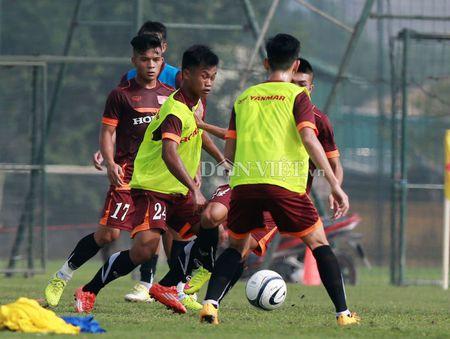 Cong Phuong lap 'hat-trick' trong buoi tap cua U23 Viet Nam - Anh 6