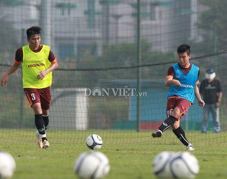 Cong Phuong lap 'hat-trick' trong buoi tap cua U23 Viet Nam - Anh 7