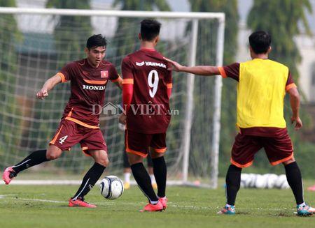Cong Phuong lap 'hat-trick' trong buoi tap cua U23 Viet Nam - Anh 8