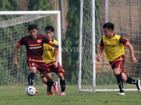 Cong Phuong lap 'hat-trick' trong buoi tap cua U23 Viet Nam - Anh 9