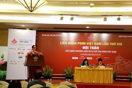 Hoi thao Xay dung thuong hieu, vi the cua phim Viet Nam - Anh 2