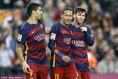 Barcelona 'viem mang tui' vi muon giu Neymar va Messi - Anh 1