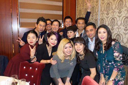 Thanh Thao, Quang Dung mung day thang con gai Ha Kieu Anh - Anh 7