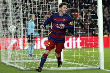 Lionel Messi am sach giai thuong 2015? - Anh 1