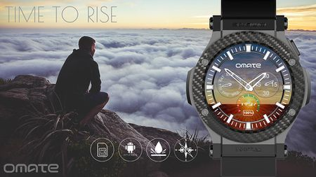 Omate Rise: Smartwatch chay Android 5.1 Lollipop, co 3G, ket noi Android va iPhone, gia 349 USD - Anh 6