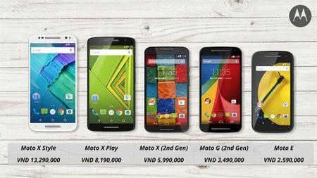 Motorola tro lai thi truong Viet Nam voi 5 san pham moi - Anh 3