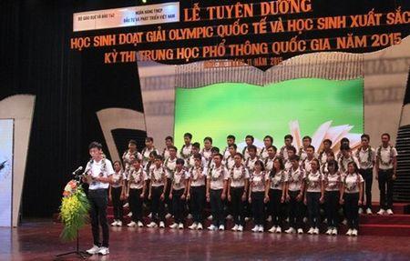 "Thay gi tu ""uoc mo du hoc"" cua nhung hoc sinh xuat sac nhat nam 2015 - Anh 1"