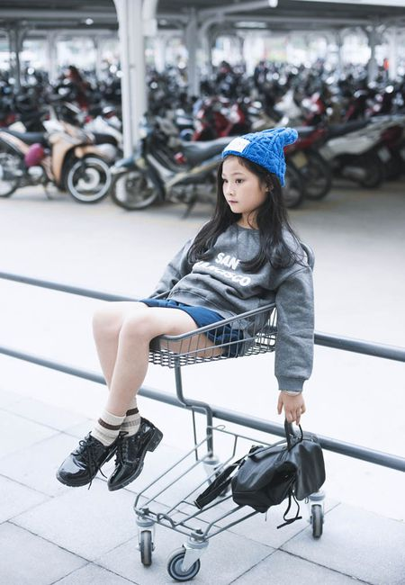 Top 10 mau nhi The gioi xuong pho dep chang kem Minh Hang - Anh 2